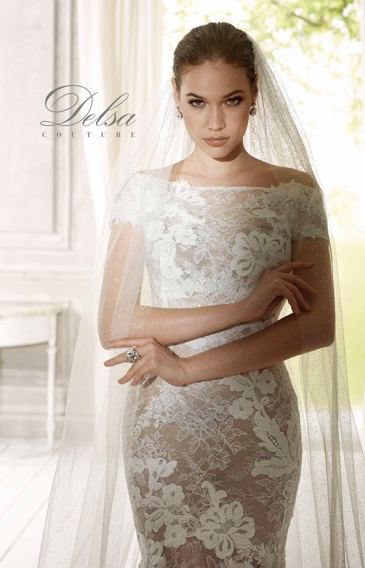 7b8b05191158 Le nuove collezioni di Delsa spose a breve nel nostro Atelier dedicato alla  sposa e alla
