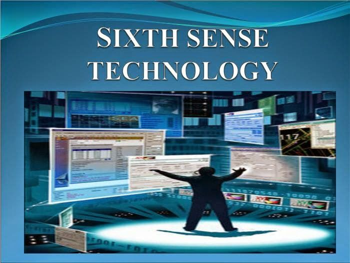 Presentation At: Sixth Sense Technology
