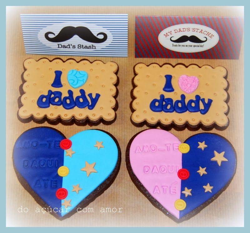 Do Açúcar Com Amor - Father's Day Cookies