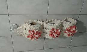 porta papel higienico de croche - Pesquisa Google