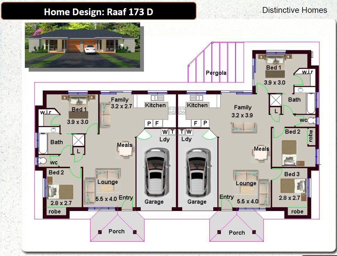 24 Ideas Container House Australia Floor Plans For 173 Du 5 Bed Garage 180 2 M2 Duplex Design Housecontain Container House Duplex Design Floor Plans