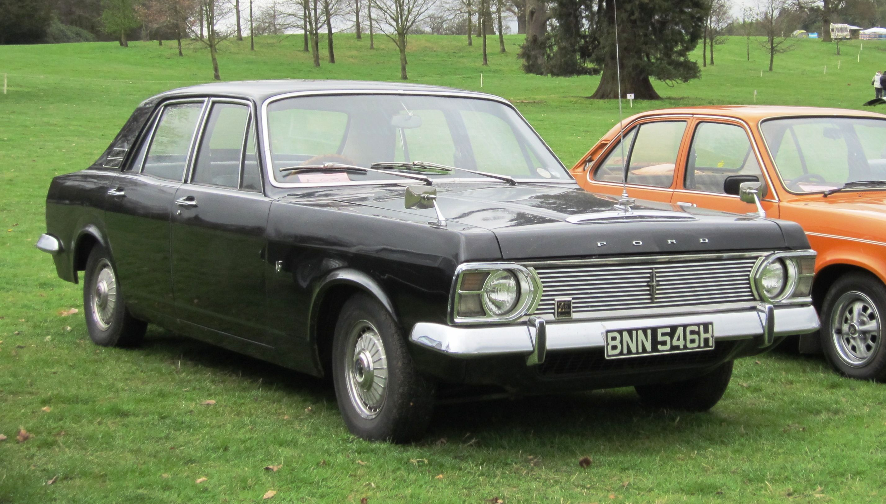 Ford Zephyr 6 Mark Iv The Deluxe Version Gained A Dummy Grille