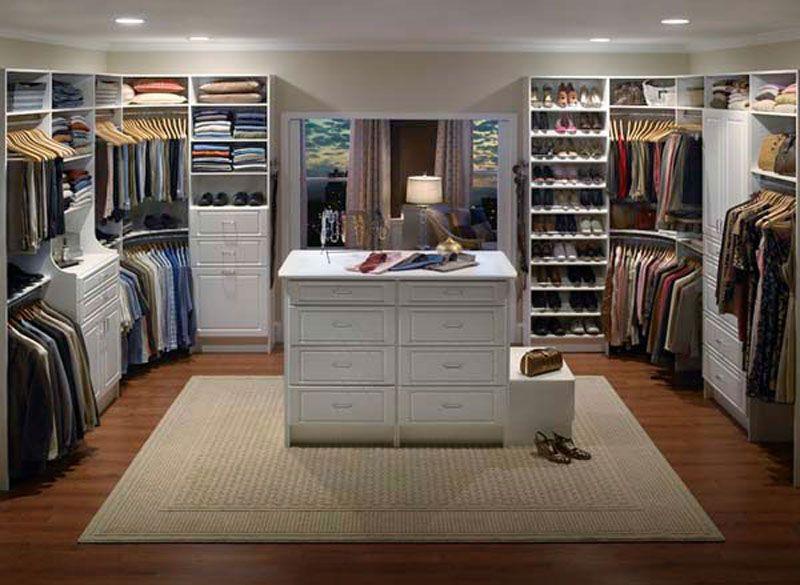 Amazing 30 Modern Designs of Walk In Closets : Classic Walk In Closet  Design Ideas