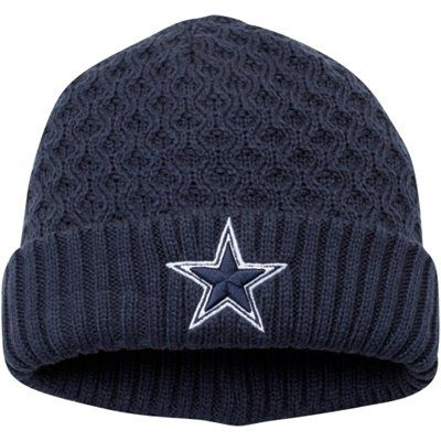 505638a2 Dallas Cowboys New Era Women's Cutie Knit Cuffed Hat – Navy Blue ...