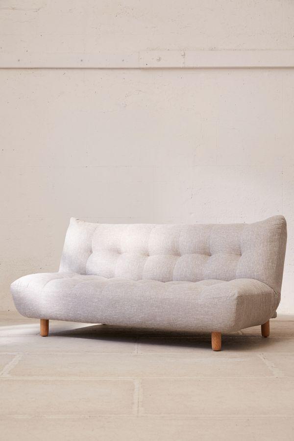 Urban Outfitters Winslow Armless Sleeper Sofa Modern