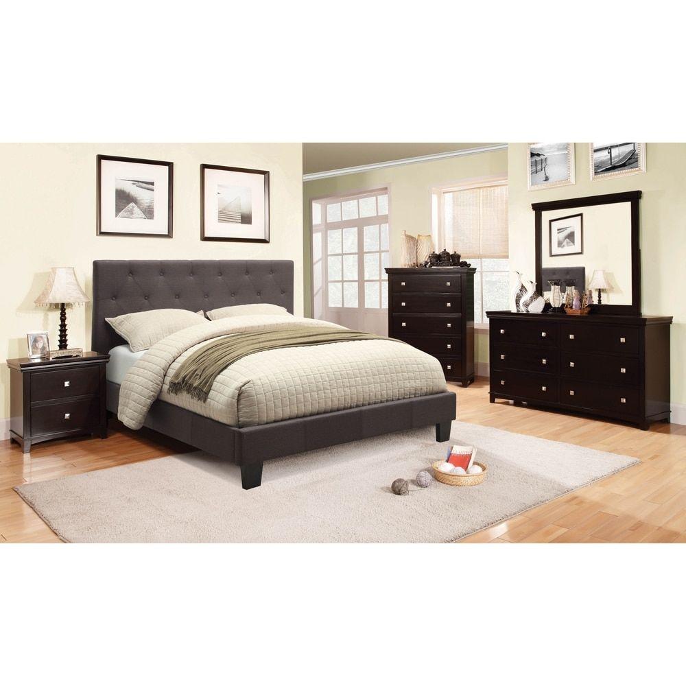 Best Furniture Of America Perdella 4 Piece Grey Low Profile 640 x 480