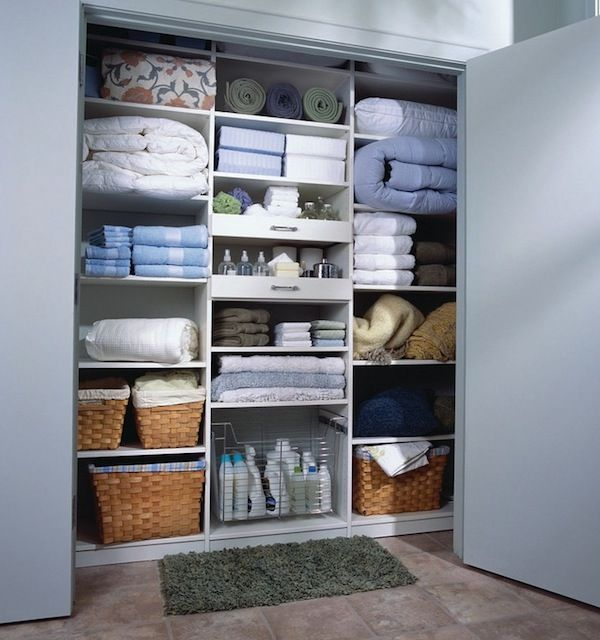 Organizing Linen Closet Ideas Part - 44: My Dream Organized Linen Closet And More Ideas To Efficiently Organize Your  Closets.