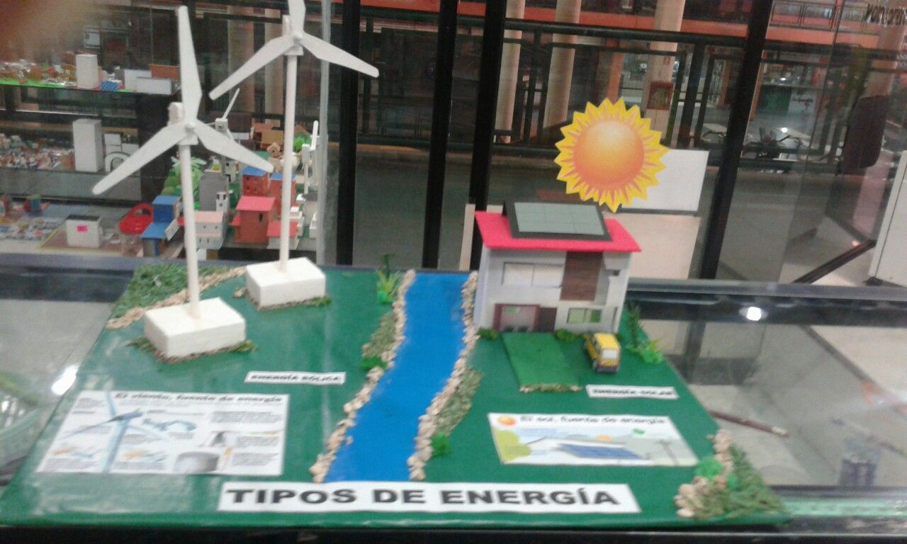 Maqueta tipos de energía | Mis maquetas | Pinterest