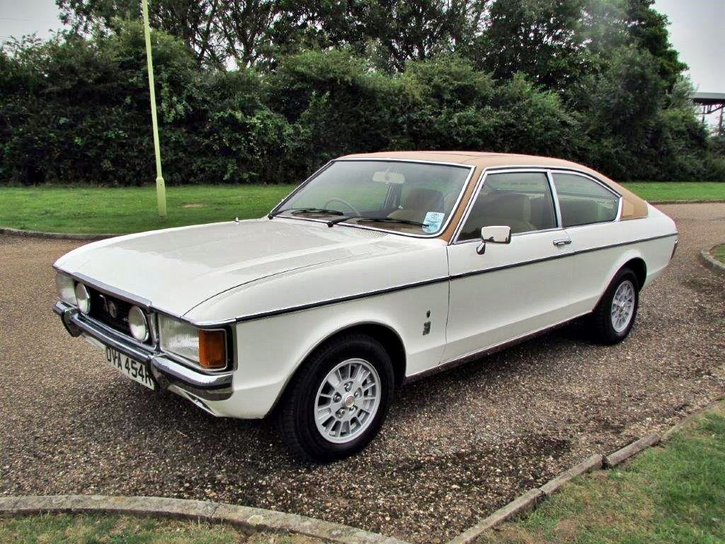 1977 Ford Granada Mk1 3 0 Ghia Coupe Classic Cars British Ford