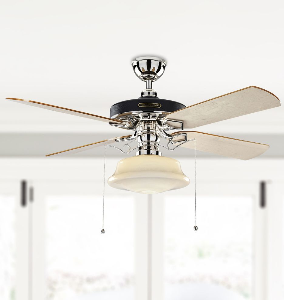 Heron Ceiling Fan With Low Profile Shade Ceiling Fan Ceiling