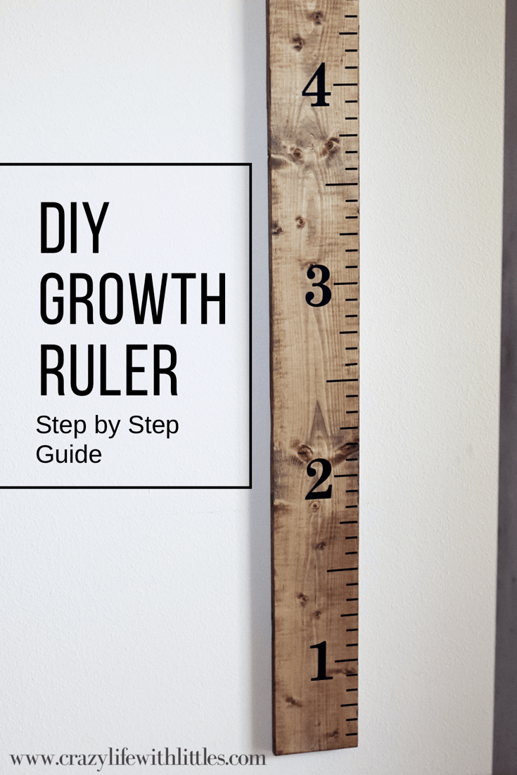 Diy Growth Ruler Pinterest Growth Ruler Growth Charts And Chart
