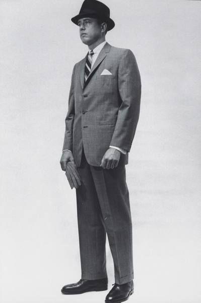 Men S Suit 1960 Vintage Masculino Anos 50 Geraldo