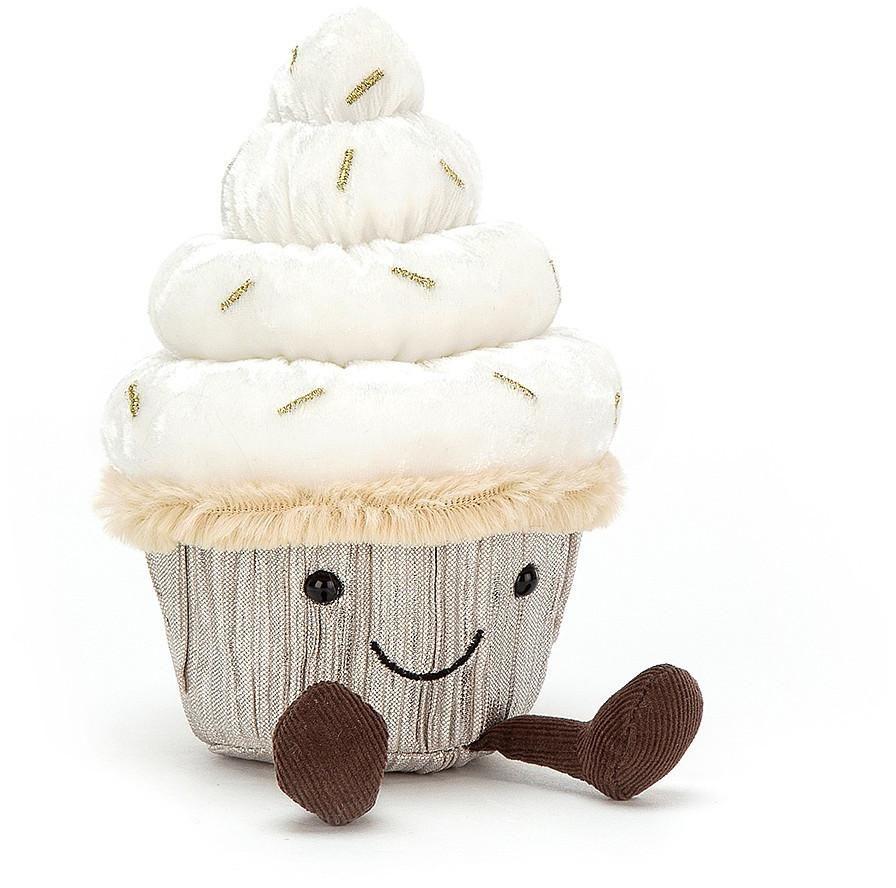 Jellycat Frosty Cutie Cupcake In 2020 Cute Stuffed Animals Jellycat Soft Toy