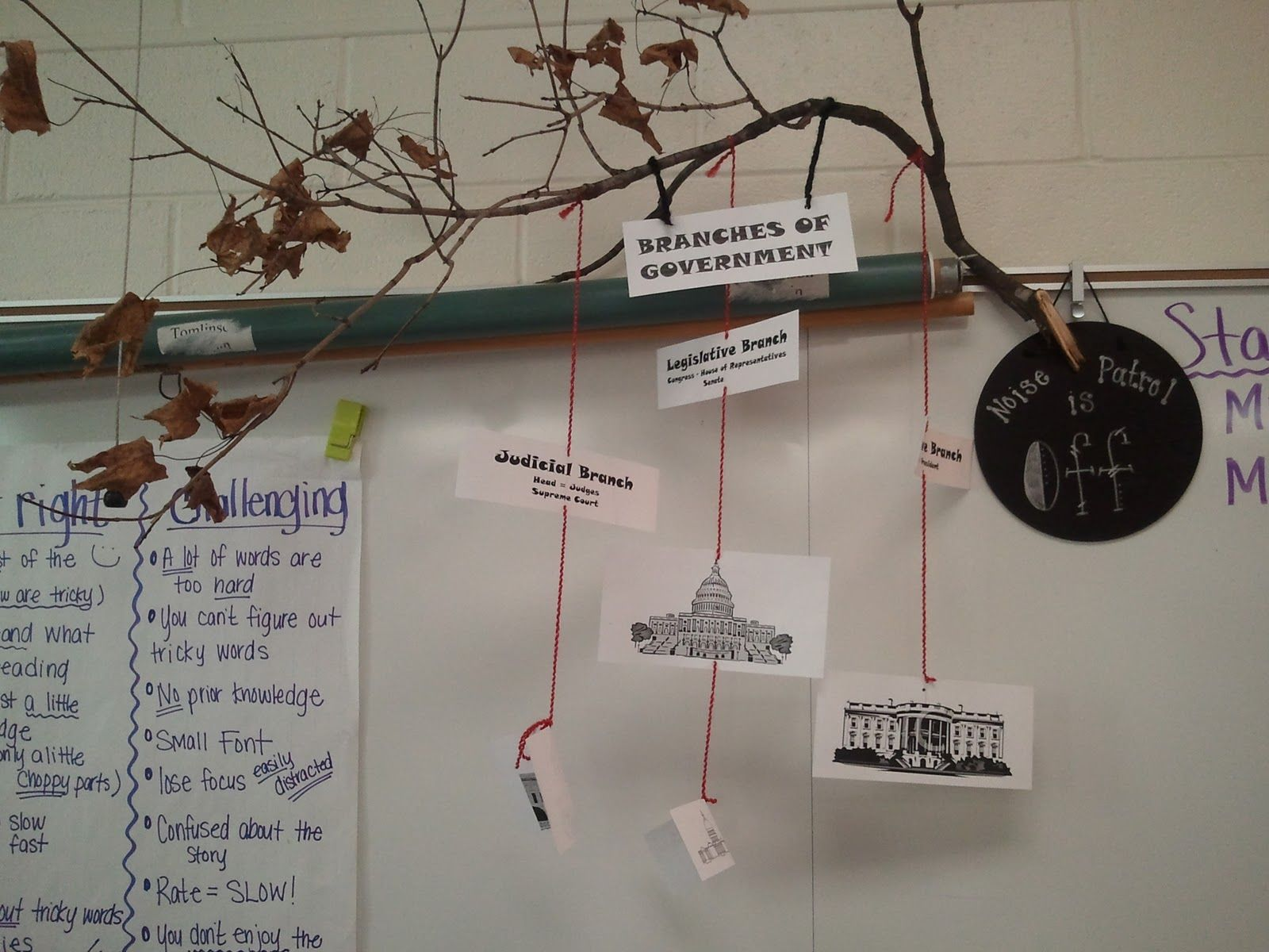 Today We Learned About The Branches Of Government After A Brief Power Point Handout Fill In