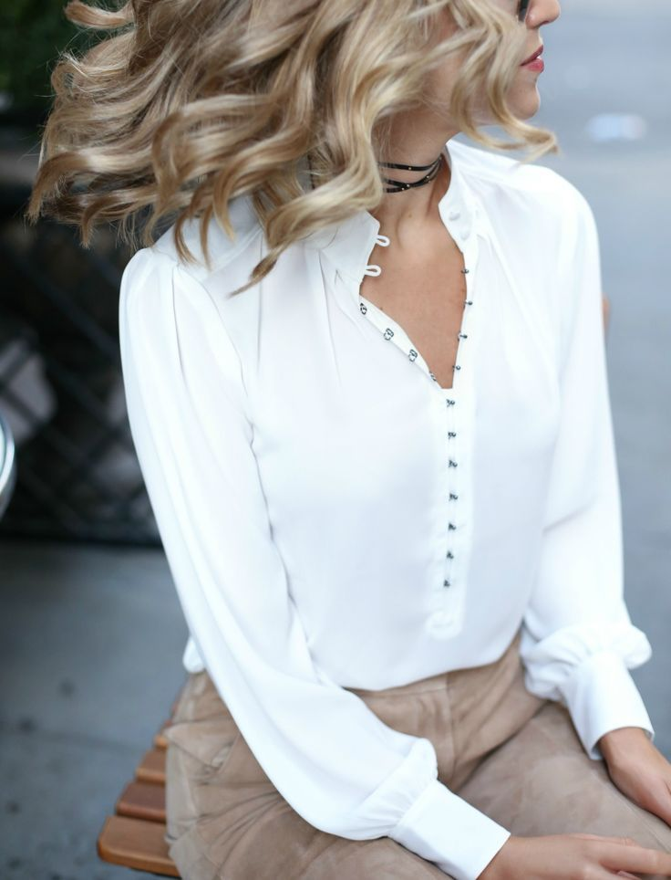Pin by Rita Phil on ◦The White Blouse◦  b4196718ad02f