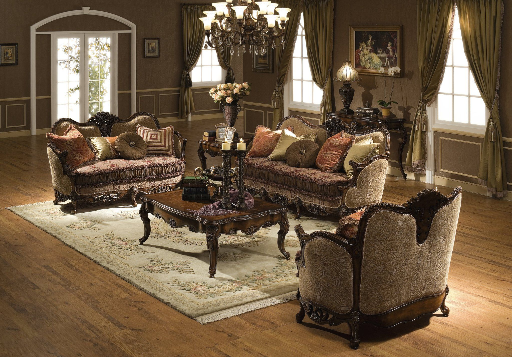 Best The Cassiopeia Formal Living Room Collection 11397 400 x 300