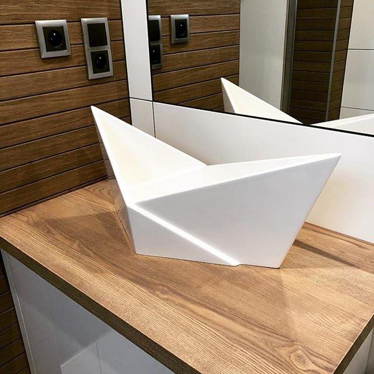 Coole Waschbecken mehr pepp für deutsche badezimmer: waschtische im 3d design