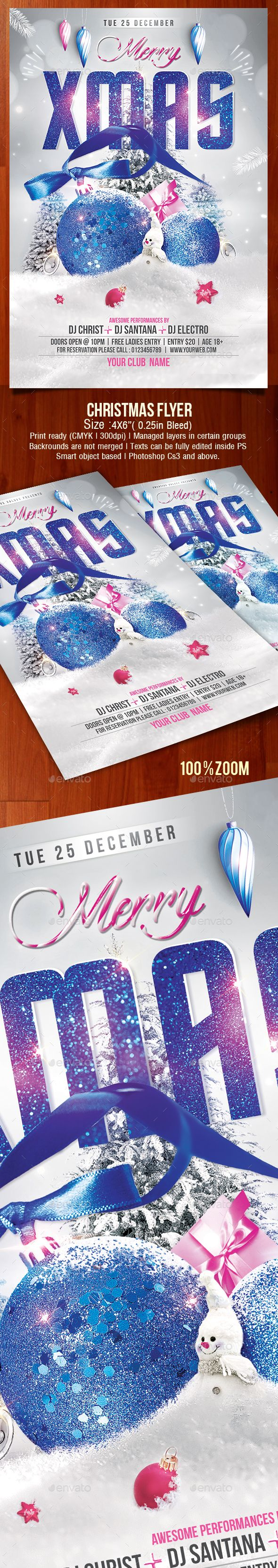 Pin od artbart na New Year Flyers Template Pinterest