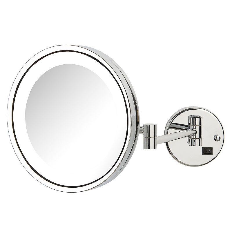 Jerdon Hl1016 Direct Wire Led Lighted Wall Mirror With Images
