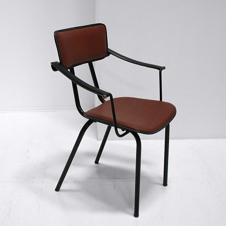 Side Chair By Jacques Adnet
