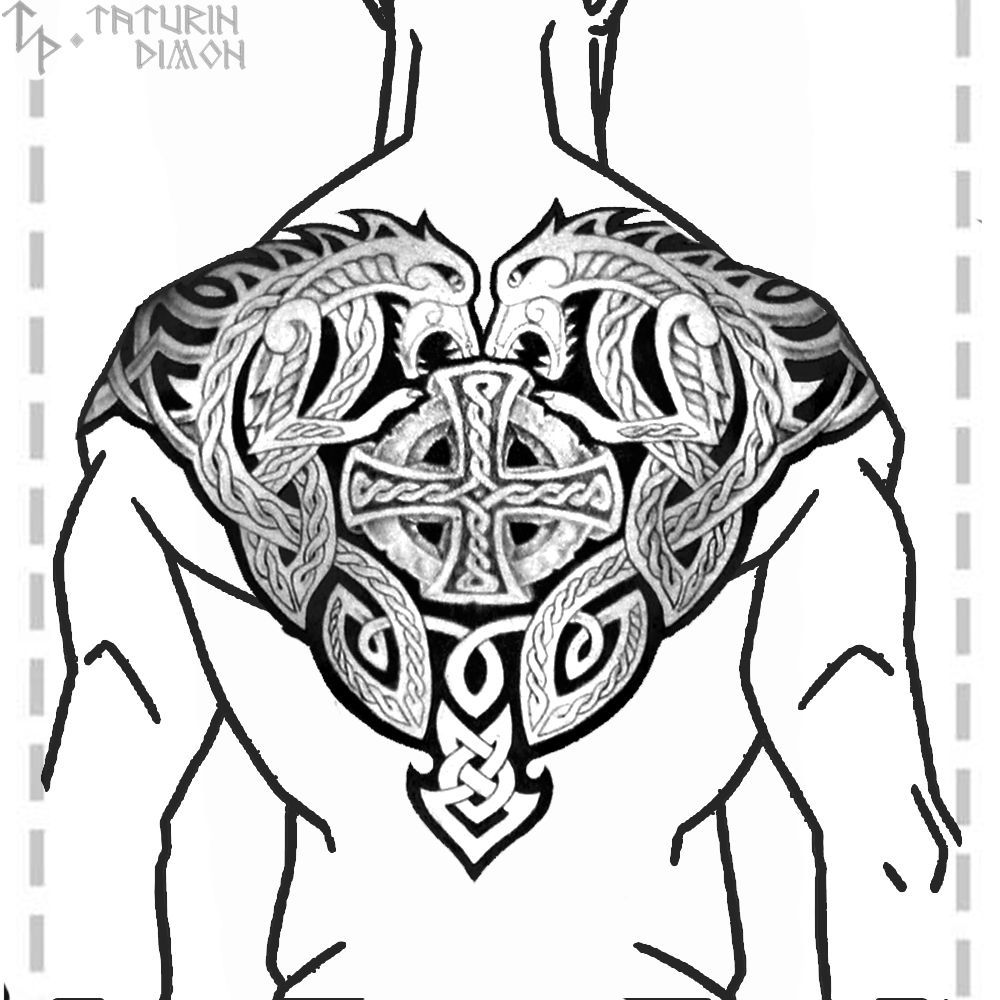 50 Wikinger Tattoo Ideen Und Interessante 13