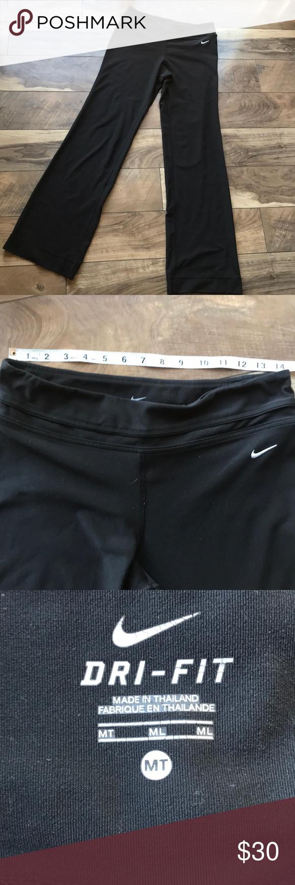 Nike Dri Fit Lounge Pants Medium Tall