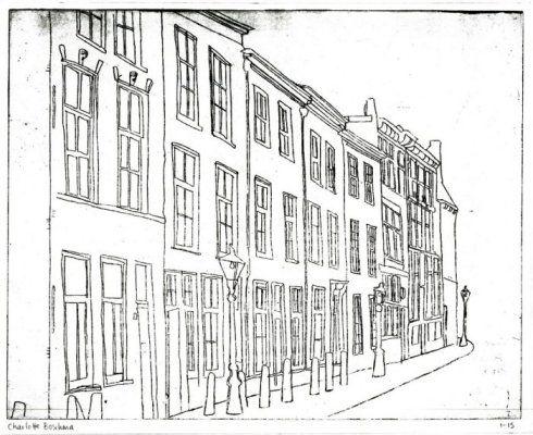 street in Leiden
