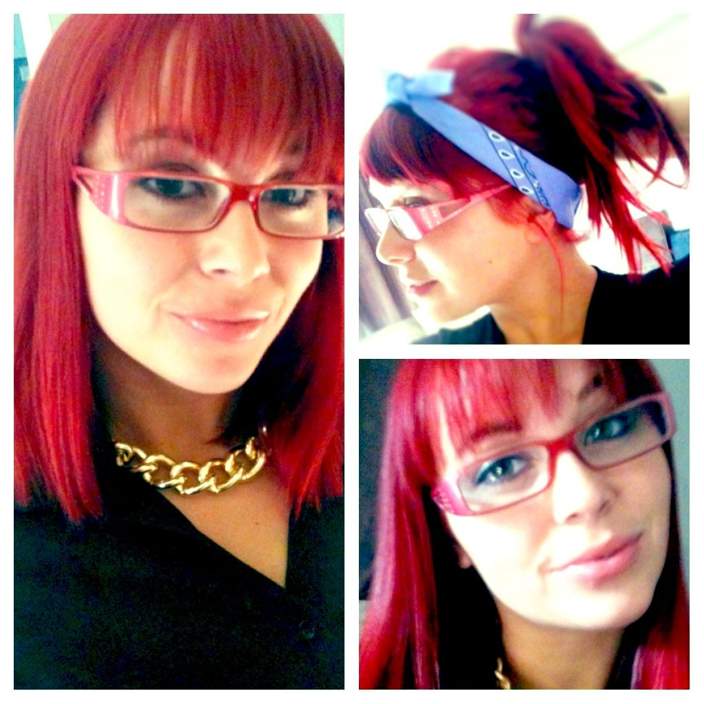 Rihanna Red Hair Loreal Hicolor Hilights For Dark Hair Only In Red