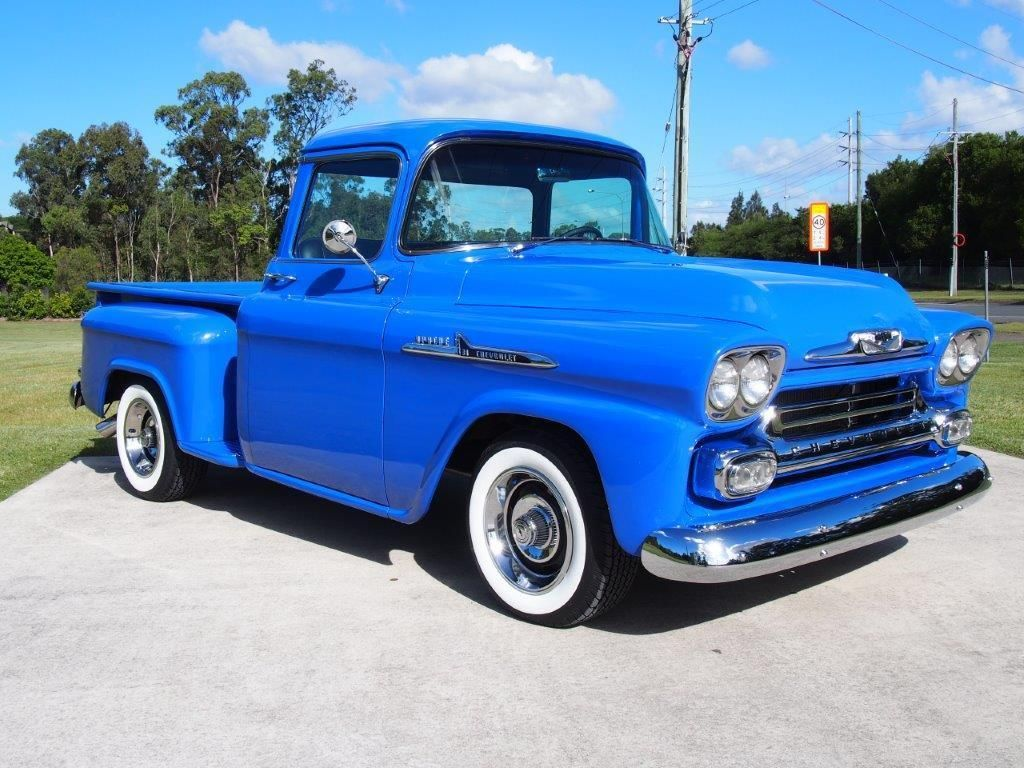 1958 Chevy pickup Maintenance/restoration of old/vintage vehicles ...