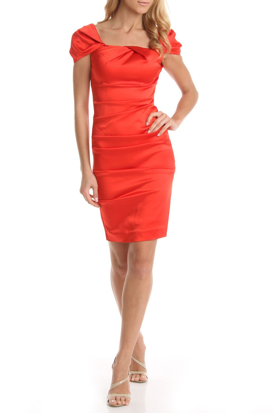 Issue NY Baby Jane Dress in Paprika