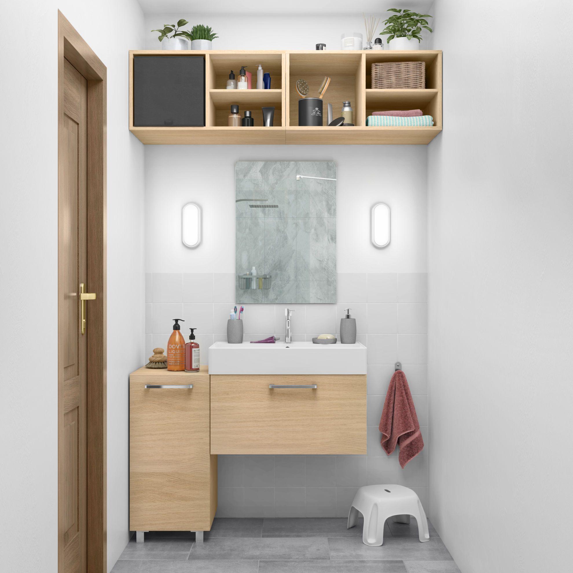 Mobile bagno Easy rovere L 70 cm Bagno e Easy
