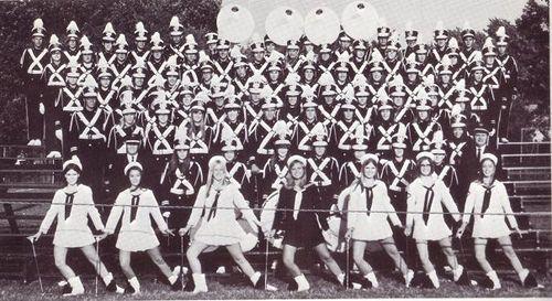 1969-1970 Sailor Marching Band