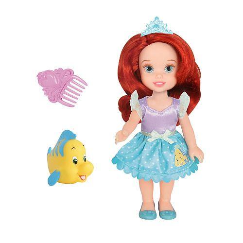 Disney petite princess toddler doll ariel and flounder - Petite princesse disney ...