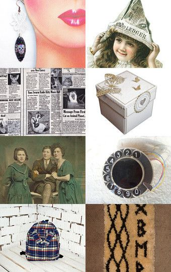 Speaking of News by OurGarden Terrace on Etsy--Pinned with TreasuryPin.com
