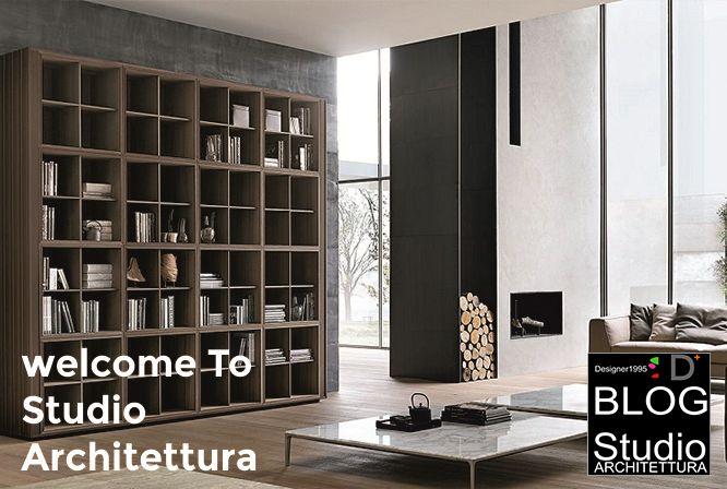 Nuovo sito responsive - Studio Architettura in como Studio - deko wohnzimmer regal