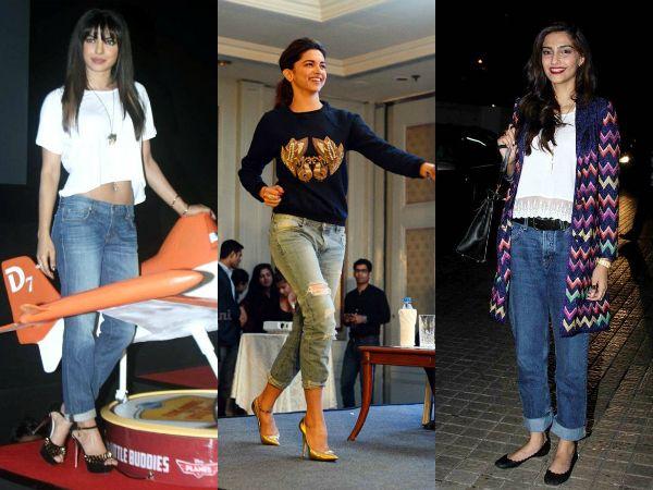 Ways to style your boyfriend jeans! #Celebrity inspired ...
