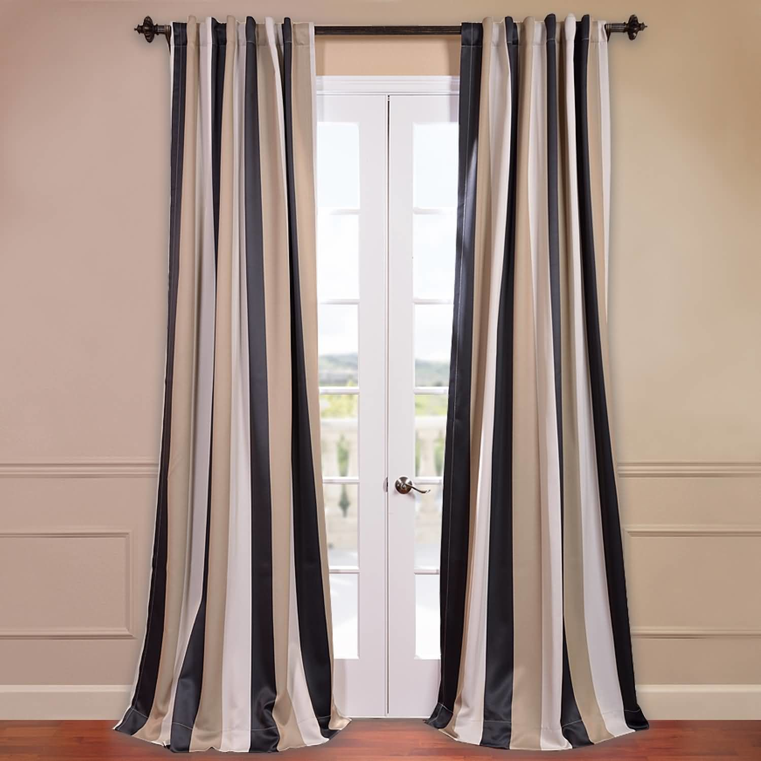 half price drapes georgetown blackout thermal single curtain panel  - half price drapes georgetown blackout thermal single curtain panel