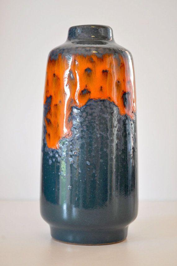 Lava Vase | West German Pottery