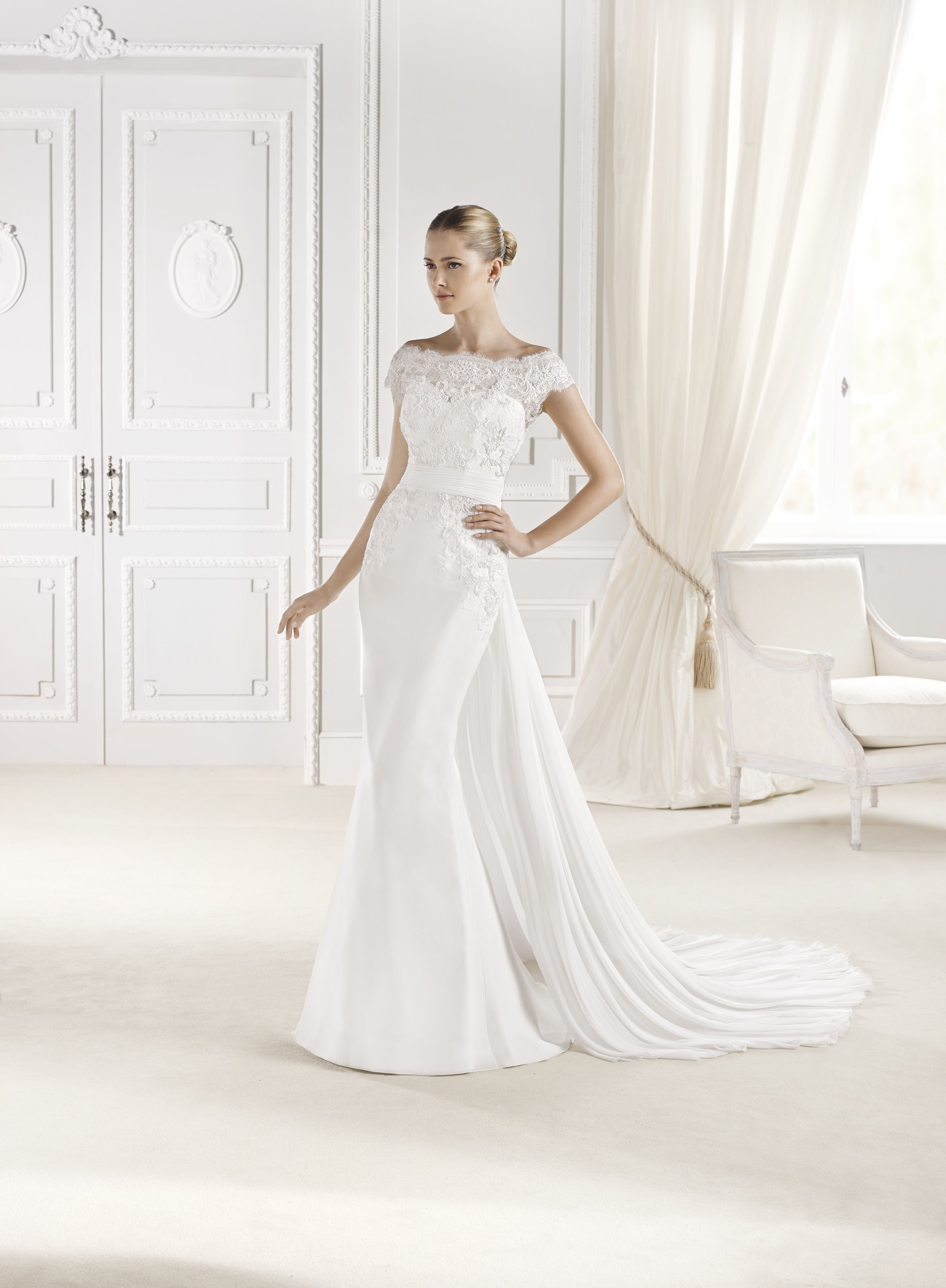 Eures By Lasposa From Ovias Size 10 Sample In Wedding Twgbride Michigan Wiliamstonmi