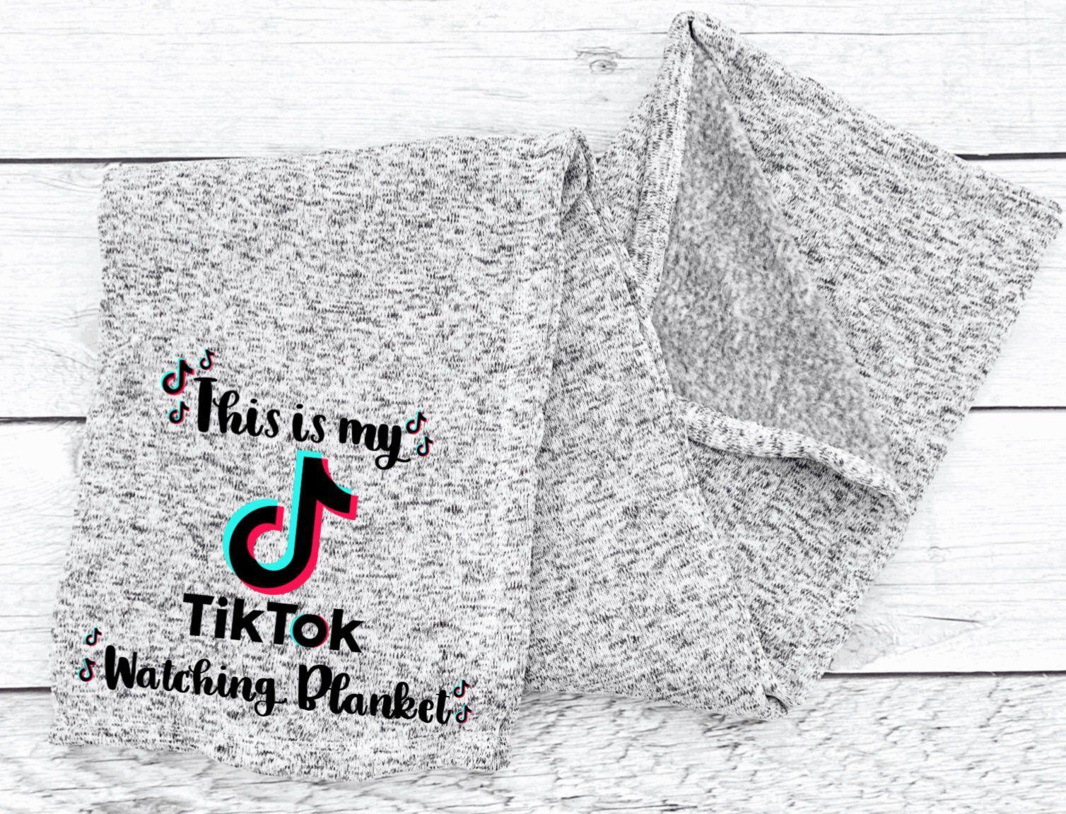 My Tik Tok Watching Blanket Tiktok Blanket In 2021 Knitted Blankets Christmas Craft Show Couch Blanket