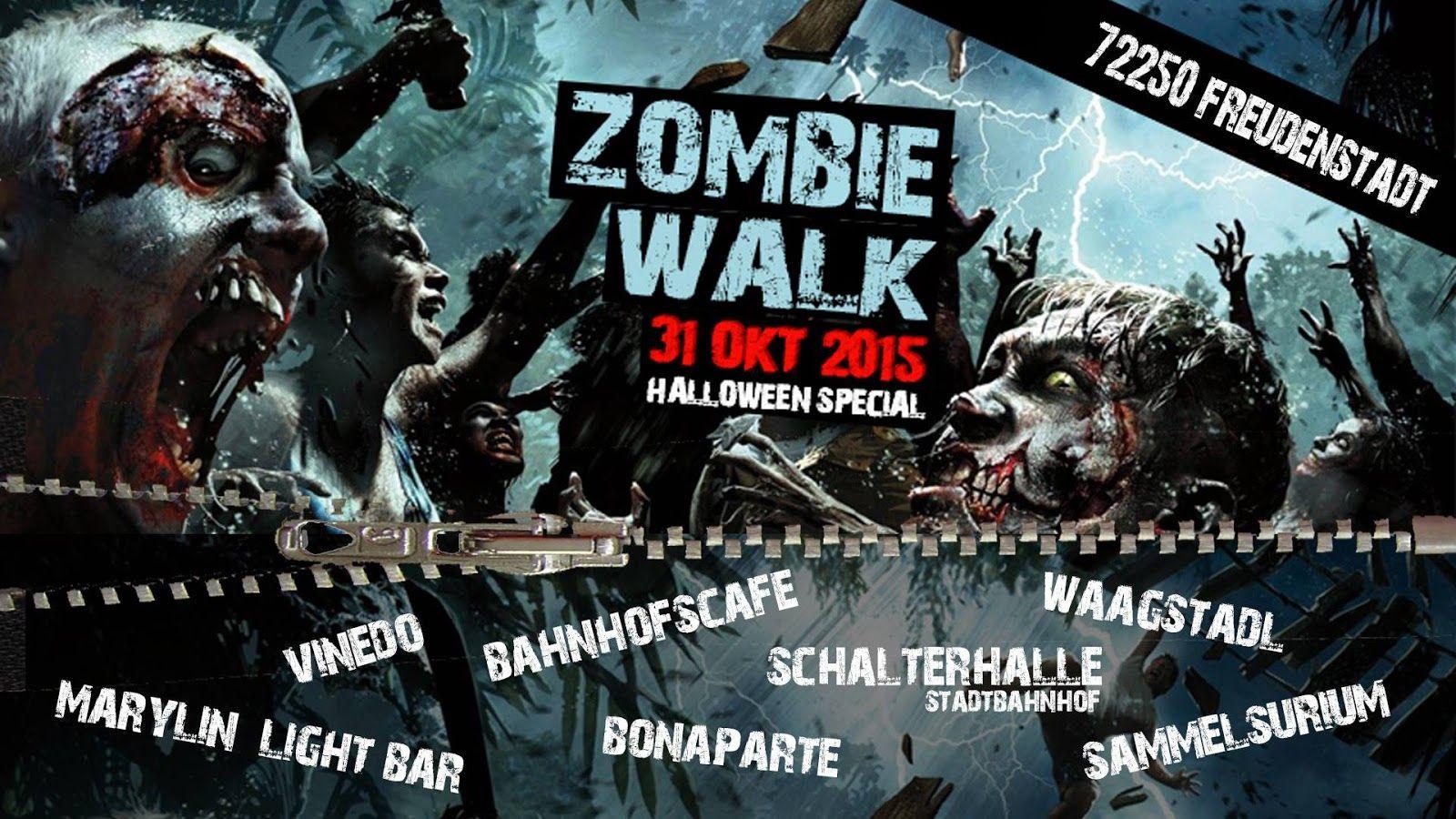 Zombie Walk - Halloween Special 2015 - Freudenstadt, Deutschland, 31. Oktober 2015