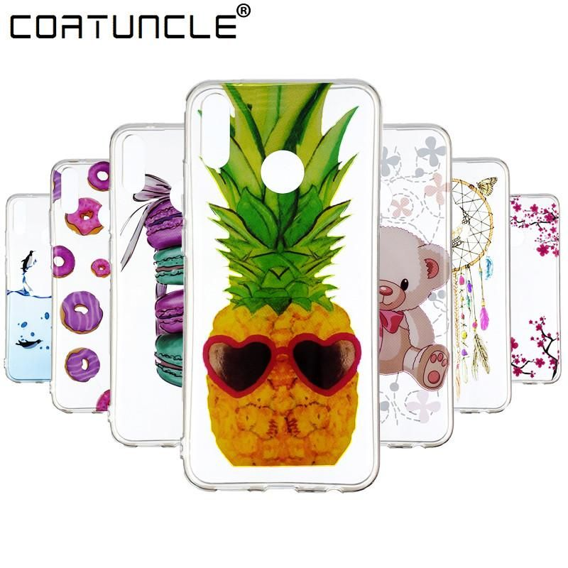 c60026fccc5 Y9 2019 Soft TPU Case on For Coque Huawei Y9 2019 case Cover sFor Fundas  Huawei Y9 2019 Cover Painted Transparent Phone Cases