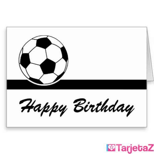 tarjeta del feliz cumpleanos del balon de futbol rbb4668c367f34b4c8f98055a8b955780 xvuak 8byvr