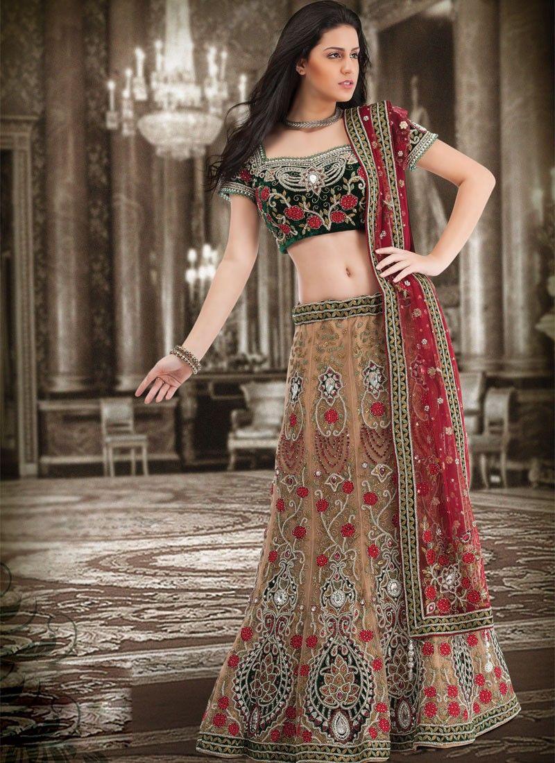 Plushy brick red and brown lehenga choli indo pak wedding plushy brick red and brown lehenga choli ombrellifo Choice Image