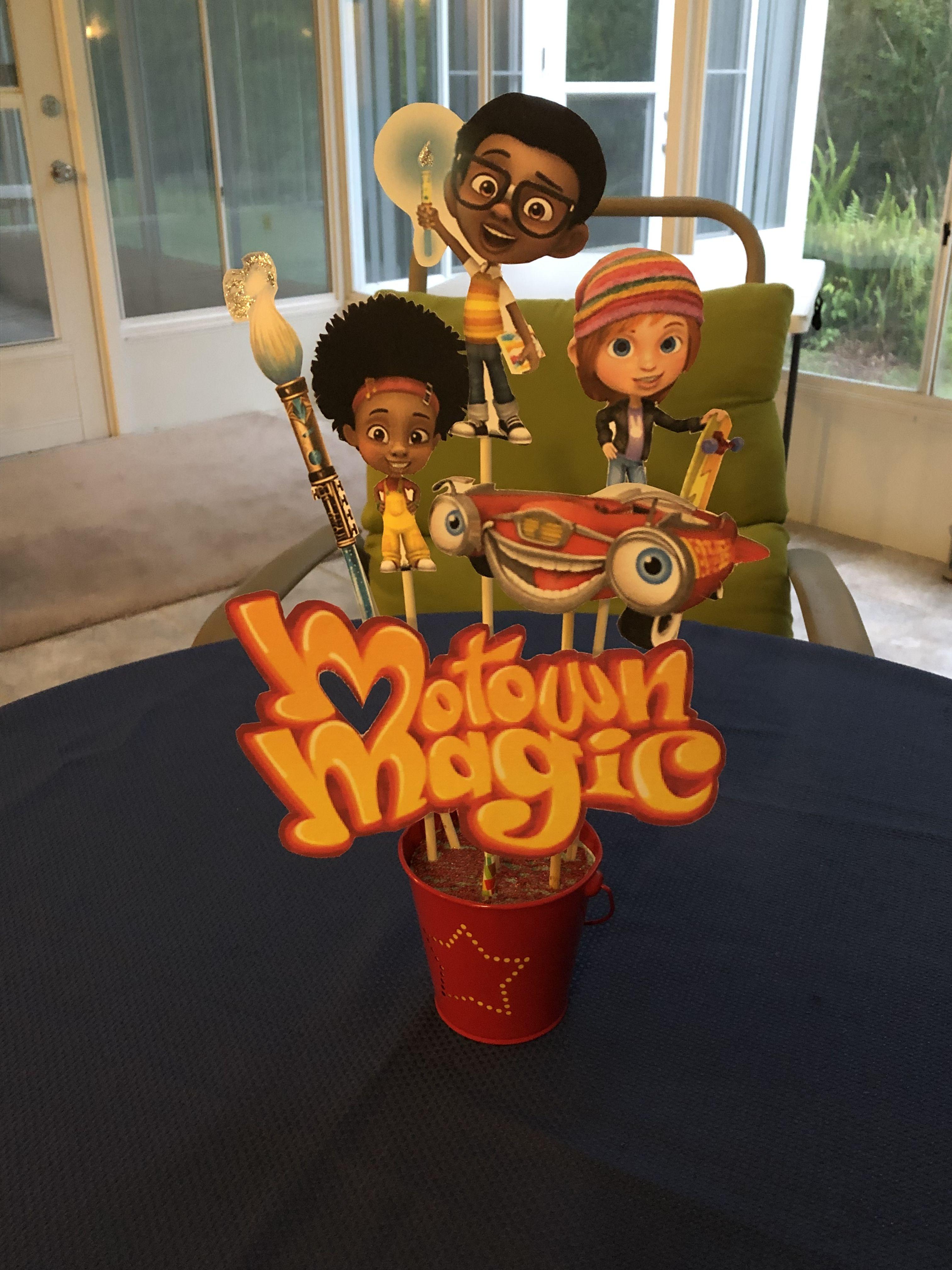 Motown Magic birthday decor