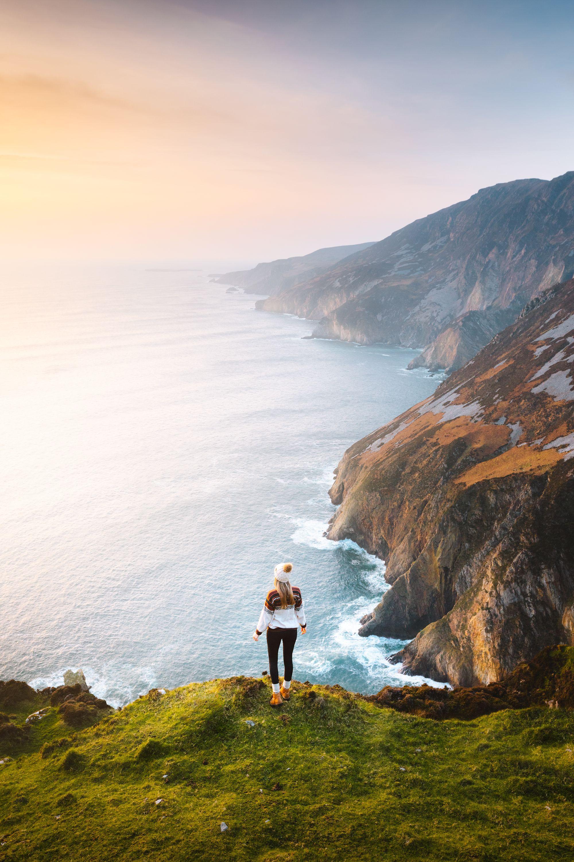 Wild Atlantic Way: Exploring Ireland's Breathtaking Coastal Route - Slieve League Cliffs