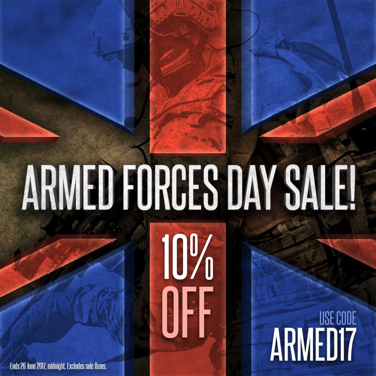 Military 1st Armed Forces Day Sale Starts Today 10 Off Everything