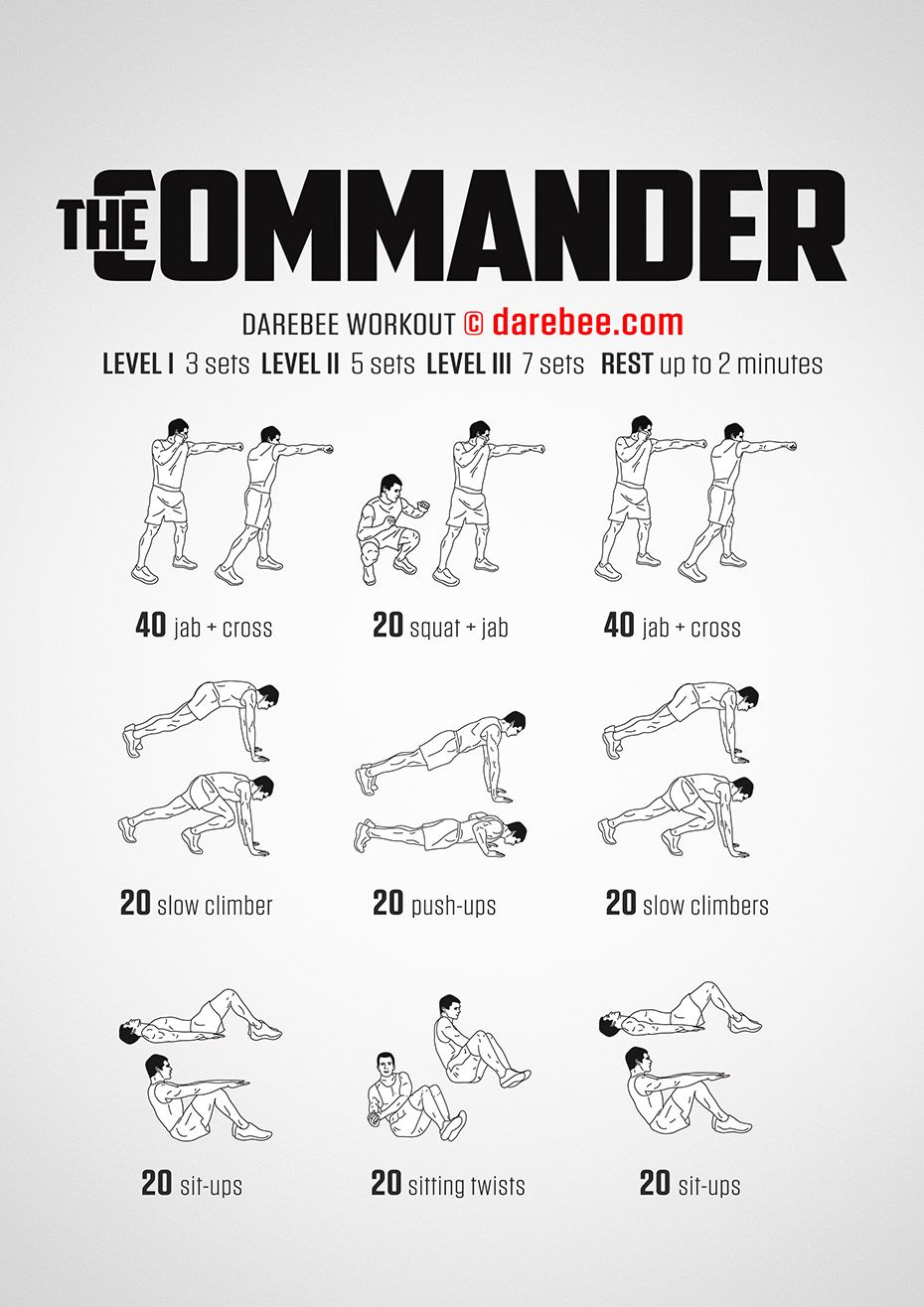 All over body workout warrior workout
