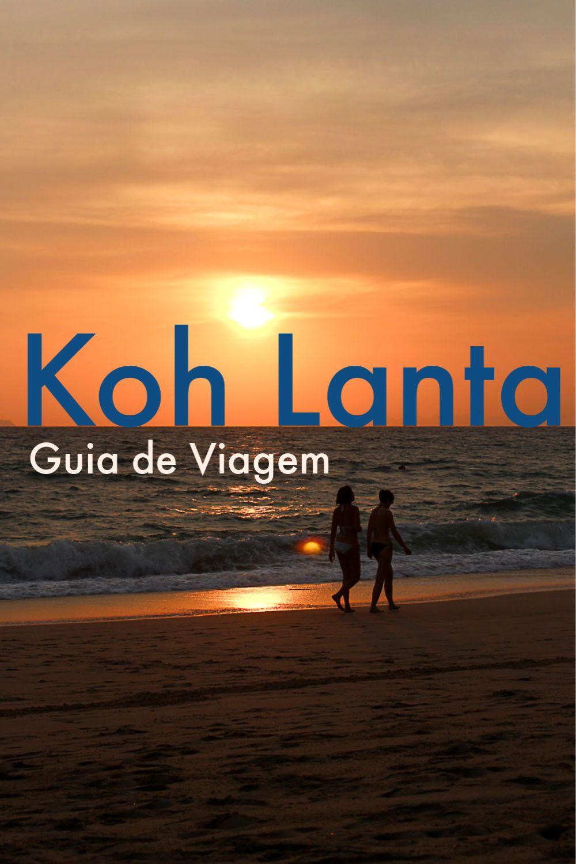 Roteiro do que fazer em Koh Lanta, onde ficar e as