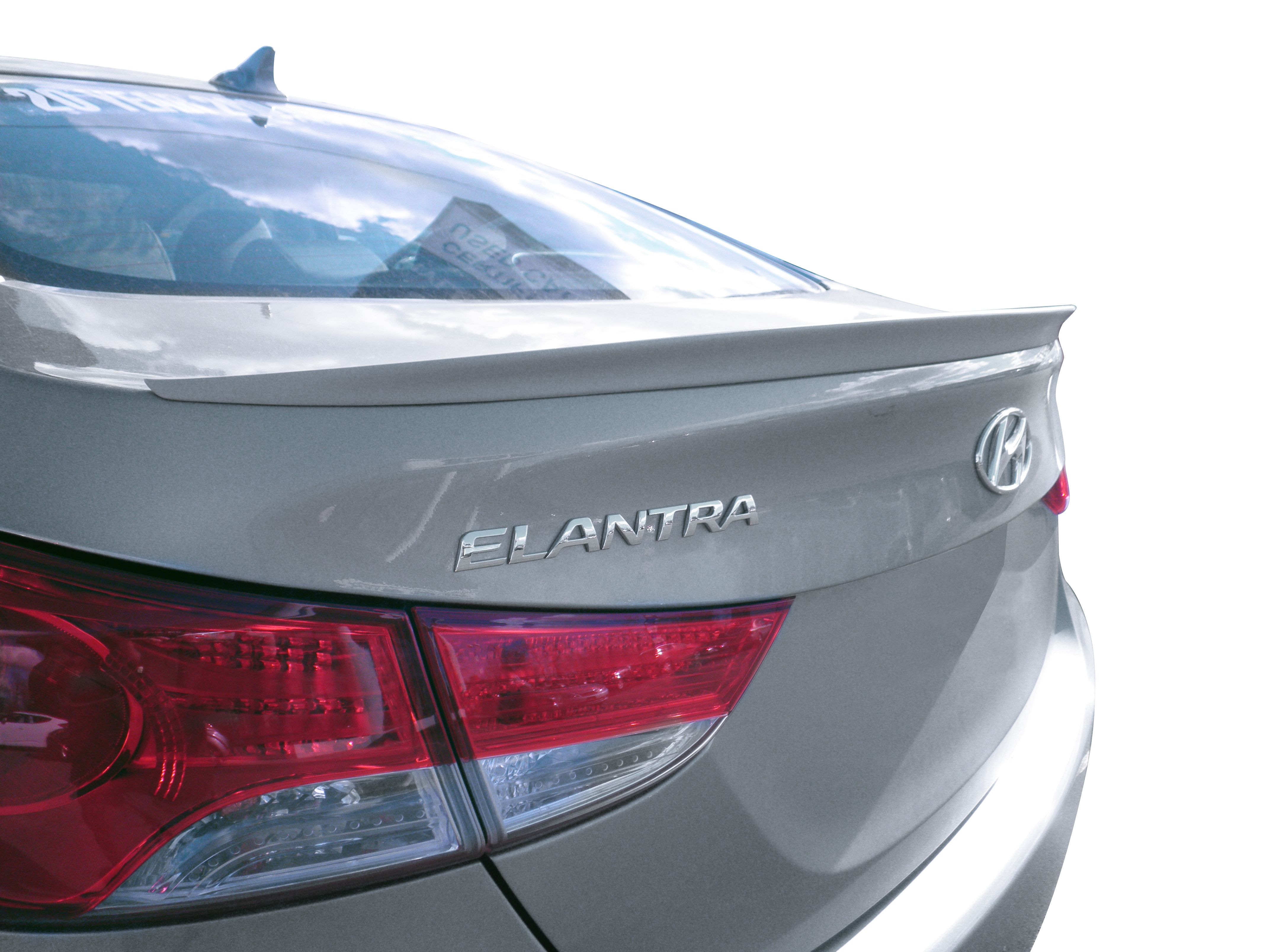 2011 2013 hyundai elantra custom style flush mount rear deck spoiler http